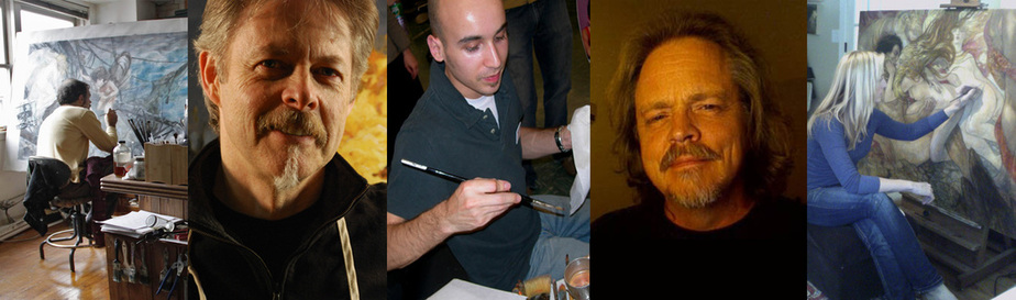 SAS Faculty: Donato Giancola . Greg Manchess . Dan DosSantos . Todd Lockwood . Rebecca Guay